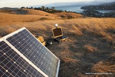 Portable Solar Generator System.