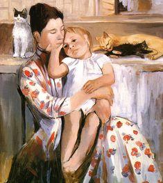 Mary Cassatt Homage to Mary Cassatt, by David Baird and Vicky Cox?