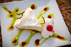 Key Lime Pie at Latitude 31  Photo by Brooke Roberts Photography