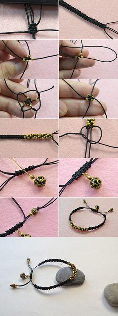 Like this braided bracelet? LC.Pandahall.com will publish the tutorial soon.          #pandahall