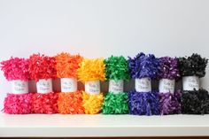 Fringe Garland Rainb