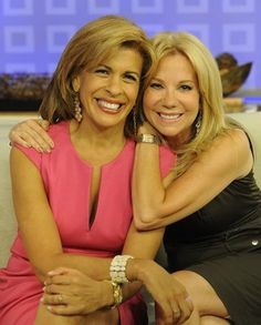 Hoda && Kathie Lee from The Today Show;they're hilarious!