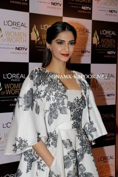 Sonam kapoor at the Women Of Worth Awards . be85123e2
