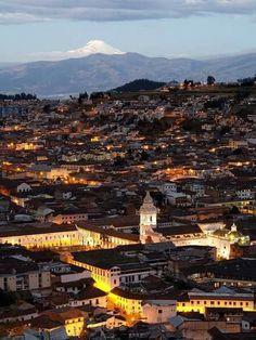 Cayambe desde Quito