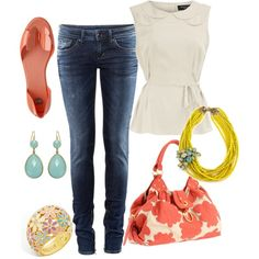 I Am So Obsessed With Colors!, created by alanad23.polyvore.com