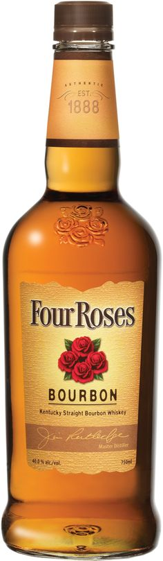 Four Roses Yellow Label Kentucky Straight Bourbon Whiskey | @Caskers