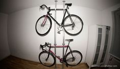 The many things you can do with Ikea's customizable Stolmen. - Bike Rack