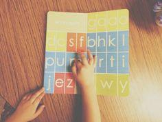 montessori letter work book