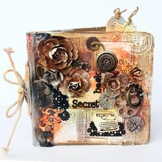 The Secret Book mixed media album