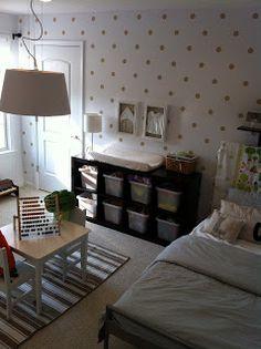 Sweet Shared Little Girl's Room - rossimore house