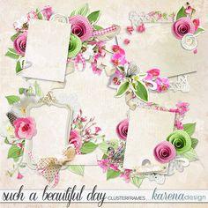 Beautiful Day, Digital Scrapbooking, Collection, Design, Design Comics