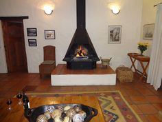 Bonnievale River Lodge - The Farmhouse Living Room