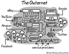 Because there is life outside of the Internet :p.
