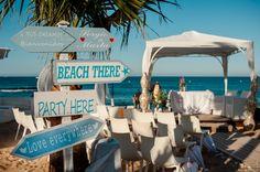 Nos encantan las bodas en la playa