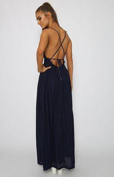 Rami Dress - Navy
