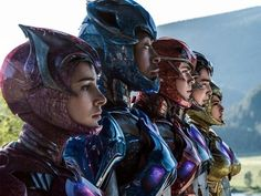 2017 Power Rangers Movie Gets New Trailer & Visuals by Mike Ferreira