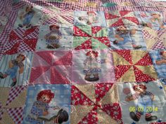 #5 Raggedy Ann &Andy baby quilt