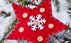 Decorazioni natalizie in feltro fai da te, 5 idee da copiare | La seconda casa non si scorda mai