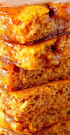 Savory magic cake with roasted peppers and tandoori - Clean Eating Snacks Pumpkin Pancakes, Pancakes And Waffles, Breakfast Pancakes, Thanksgiving Recipes, Fall Recipes, Holiday Recipes, Delicious Recipes, Yummy Food, Healthy Recipes