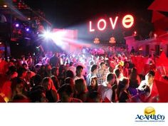 #lasmejoresdiscosdemexico Diviértete en Love de Acapulco. LAS MEJORES DISCOS DE MÉXICO. Love es un increíble lugar en Acapulco, donde puedes pasar una noche de fiesta junto con tus amigos. Cuenta con uno de los mejores ambientes en todo el puerto y el servicio de atención, es inmejorable. La música es de lo más actual y te aseguramos que te pondrá a bailar todo el tiempo. Te invitamos a divertirte en Love, durante tu siguiente viaje a Acapulco. www.fidetur.guerrero.gob.mx