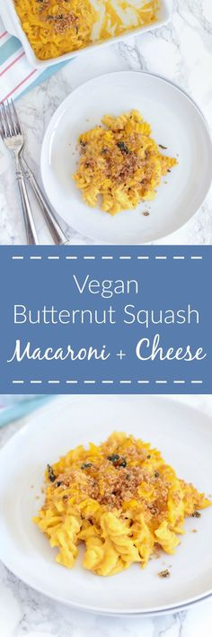 Butternut Squash Macaroni and Cheese is made with a velvety butternut ...