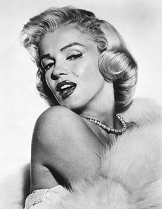 white hair, icon, inspiring women, marilyn monroe, fashion history