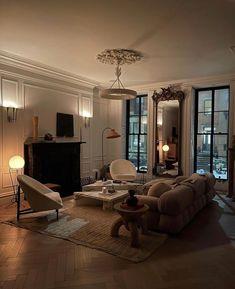 Dream Home Design, Home Interior Design, Interior Architecture, House Design, Dream Apartment, Apartment Design, Ideas Hogar, Aesthetic Bedroom, Dream Rooms