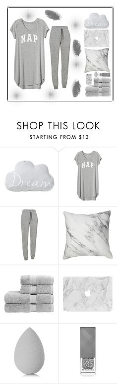 """""""Dreamless Sleep"""" by amber-mistry ❤ liked on Polyvore featuring Gap, Icebreaker, Christy, beautyblender, Burberry and Recover"""