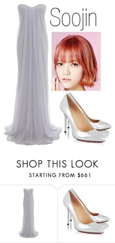 """Soojin - Ballad Song"" by ekidd on Polyvore featuring Alexander McQueen and Charlotte Olympia"