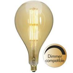Decoration Dekorpære A165 10W 2000K 650lm dimbar Led, Light Bulb, Lighting, Design, Decoration, Home Decor, Decor, Decoration Home, Room Decor