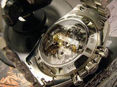 Omega Speedmaster Professional sapphire exhibition back