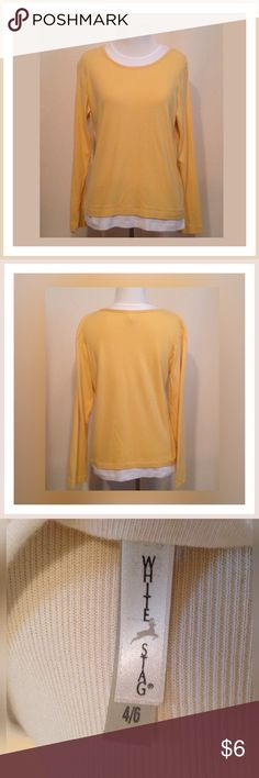 ☀️30% OFF BUNDLES☀️White Stag Layered Top ☀️Gently used WHITE STAG long sleeve shirt                                                 ☀️Size SMALL White Stag Tops Tees - Long Sleeve