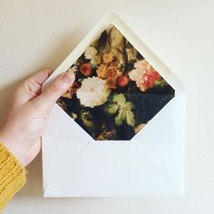 I love these envelopes from @theimaginarybeast  by designsponge