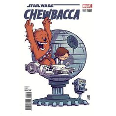 Star Wars - Chewbecca #1 variant cover by Skottie Young *