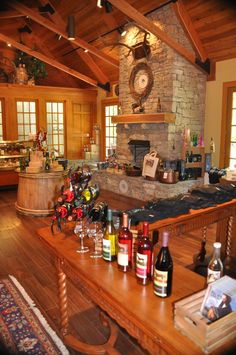 Enjoy wine tasting at The Winery at Belle Meade Plantation.     #BFFNASHVILLE