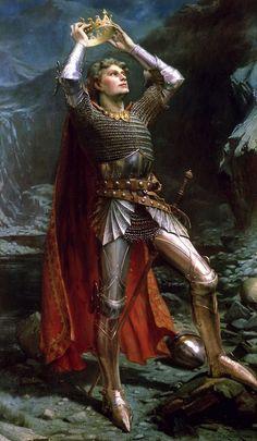 King Arthur - Charles Ernest Butler  1903