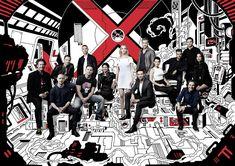 Quand les X-Men prennent la pose avec Wolverine, Deadpool et Gambit - News films Vu sur le web - AlloCiné
