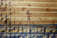 "Beach & Nautical ""Drifting on the Water"" Painting Print"