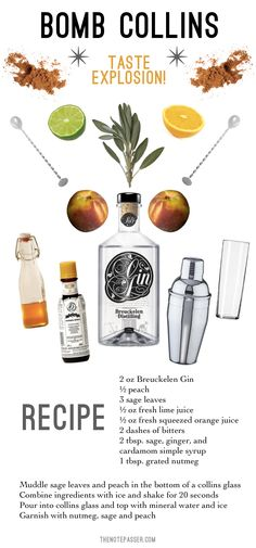 Four Gin Cocktails