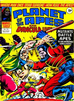 Cover for Planet of the Apes Feb. 1977#123