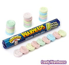 WarHeads Sour Coolers Candy Rolls: 15-Piece Box