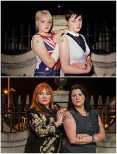 Amazing Then And Now Képek a nőkről a londoni '80 -as évek szubkultúráiról