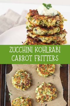 Use up all your CSA veggies with easy-to-make fritters. These zucchini kohlrabi carrot fritters with herb yogurt sauce make for a quick and delicious weeknight dinner.