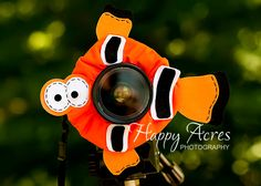 Lens Bling - Clown Fish - Ready to Ship. $20.00, via Etsy.