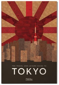 Travel Guide to Tokyo by Jessica Cohen, via Behance