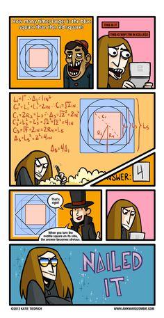 AWKWARD ZOMBIE - Pythagorean: Fear 'Em  Awkward zombie is funny. Professer Layton is epic.