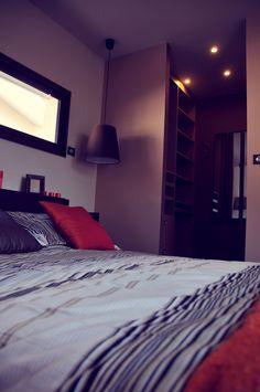 Interrupteur Céliane pour habiller cette chambre #cocooning #chambre #Céliane #dressing