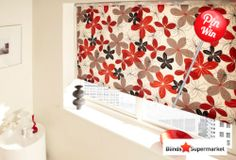 Agatha Red Roller Blind #PinToWin #PinItToWin #Styles #Trends #Spring