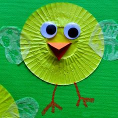 25 Delightful Cupcake Liner Crafts for Kids – Page 7 – Play Ideas