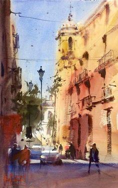 Alvaro Castagnet Painting ALMERIA - Spain